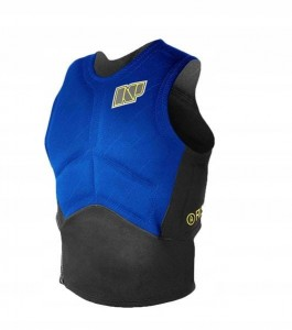 KAMIZELKA NP SURF IMPACT KITE VEST 2018 SIDE ZIP BLUE